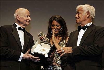 Jean-Paul Belmondo, Cannes, 2011, életmű-díj