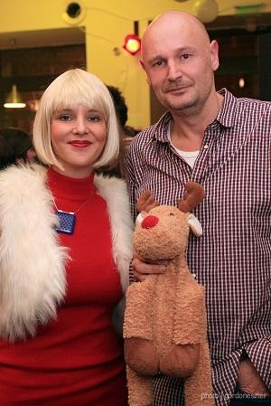 Erlend Loe és Karafiáth Orsolya - Fotó: Gordon Eszter