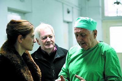 Martina Gedeck, Szabó István és Jiří Menzel