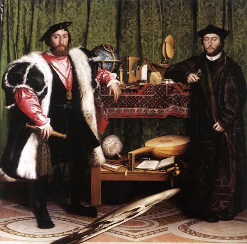 Hans Holbein: Követek