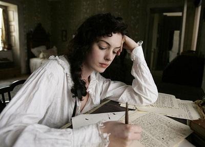 Anne Hathaway - Jane Austen szerepében