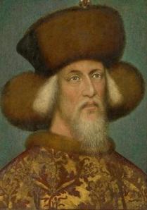 Luxemburgi Zsigmond (Pisanello, 1433. k.)