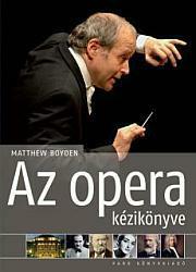 Az opera kézikönyve - borító