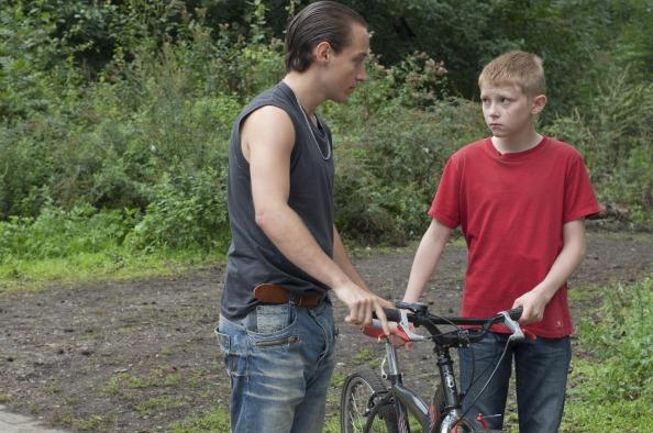 Srác a biciklival - jelenet a filmből