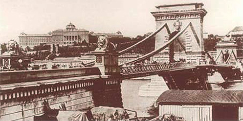 Lánchíd - archív felvétel