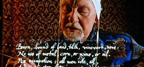 Prospero könyvei - jelenet a filmből