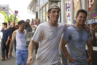 Christian Bale és Mark Wahlberg A harcosban