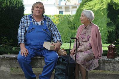 Gérard Depardieu (Germain Chazes) és Gisèle Casadesus (Margueritte)