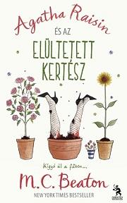 Agatha Raisin és az elültetett kertész - címlap