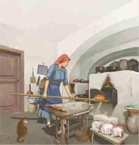 Kurdi István illusztrációja a könyvből
