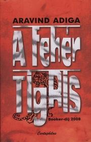 A fehér tigris - borító