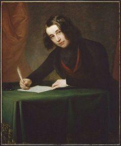 Charles Dickens - Francis Alexander festménye