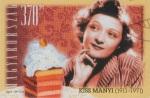Kiss Manyi - bélyeg