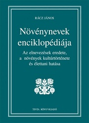 Növénynevek enciklopédiája - borító