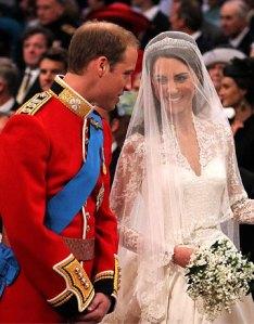 Vilmos és Kate - esküvő