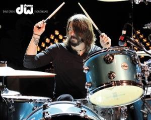 Dave Grohl - doboknál