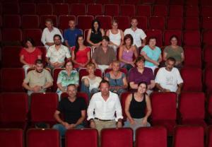 A Bóbita bábszínház társulata 2011/2012-es évedban