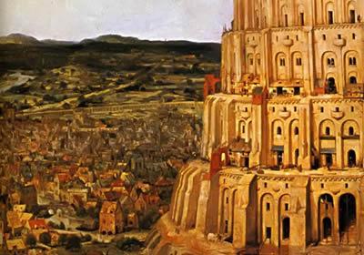 Brueghel: Bábel tornya