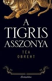A tigris asszonya - borító