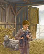 Fürtös bárány meséi - Kurdi István illusztrációja a könyvből