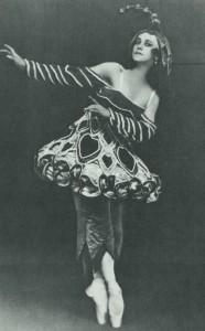 Tamara Karszavina színpadon