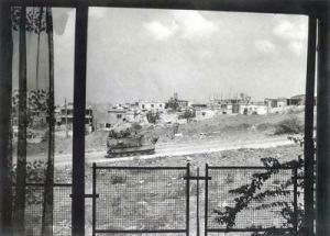 Libanoni csendélet a motel ablakából