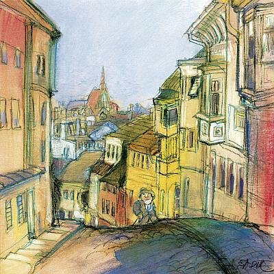 Budapesti anziksz - Gül baba utca