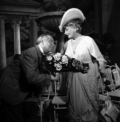 Feleki Kamill (Miska) és Honthy Hanna (Cecília) 1954