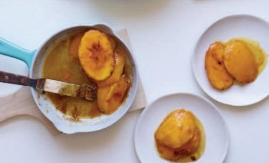 Karamellizált mangó öt fűszerrel