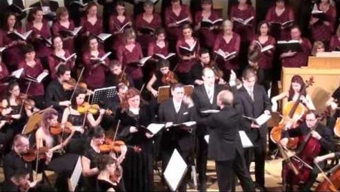 Az ELTE Bartók Kórusa és zenekara