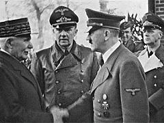 A kép amit minden francia szeretne kitörölni az emlékezetéből - Pétain és Hitler kézfogása