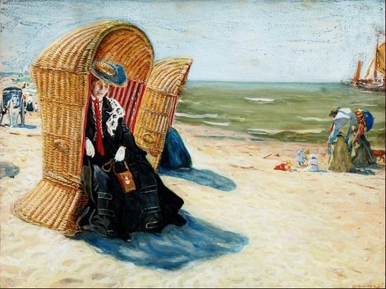 Perlmutter Izsák: Tengerparton, 1904