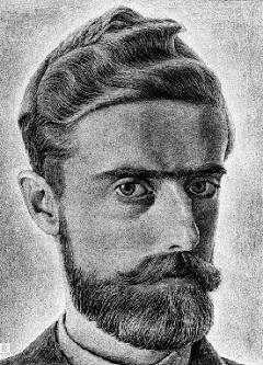 Escher önarcképe (1929)