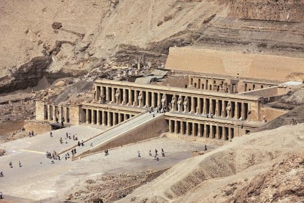 Hatsepszut királynő temploma Luxorban