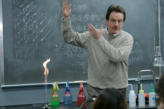 White kémiatanár, akin a diákjai keresztülnéznek (Bryan Cranston)