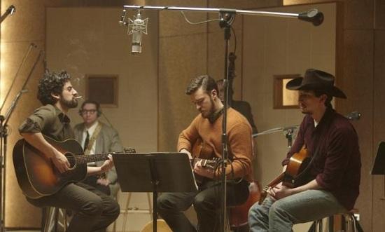 Oscar Isaac, Justin Timberlake, Garrett Hedlund