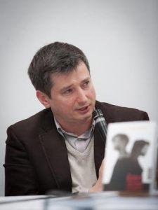 Igor Ostachowicz a budapesti könyvbemutatón (Fotó: Paweł Karnowski)