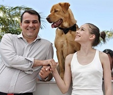 Mundruczó Kornél Cannes-ban, Psotta Zsófival és a Hagent alakító Bodyval