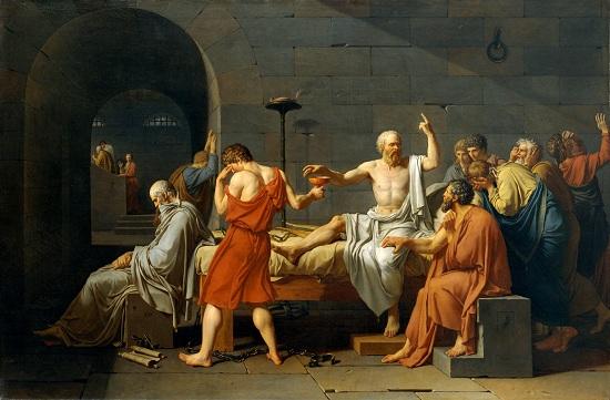 David: Szókratész halála