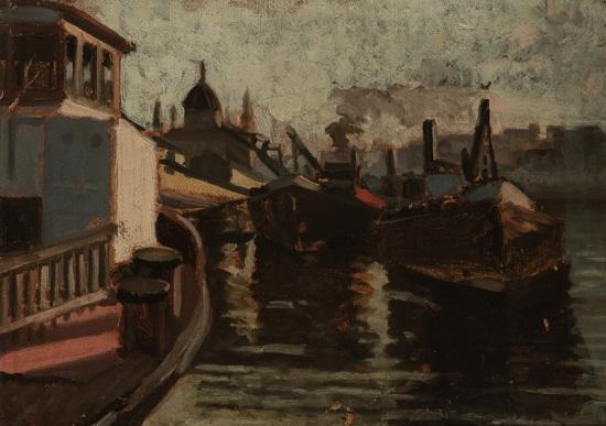 Károly Ernő: Kikötő (1930-as évek)