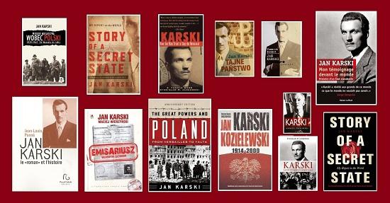 Karski művei és  könyvek róla