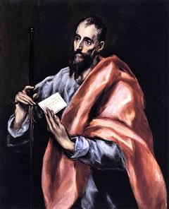 El Greco: Szent Pál apostol