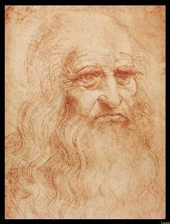 Leonardo öregkori önarcképe