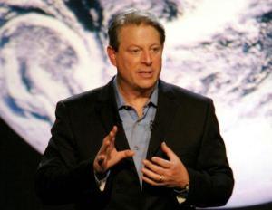 Al Gore (Davis Guggenheim dokumentumfilmjében, a Kellemetlen igazságban)