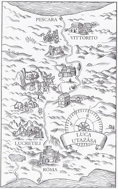 Luca utazása (Fred van Deelen illusztrációja)