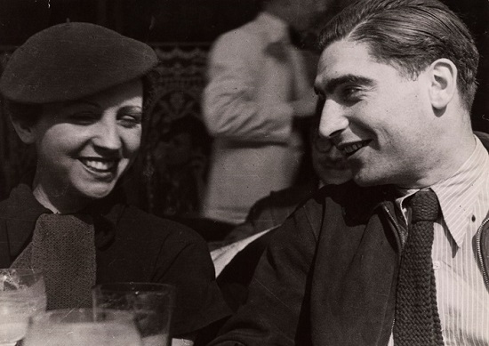 Boldog fiatalok: Gerda Taro és Robert Capa