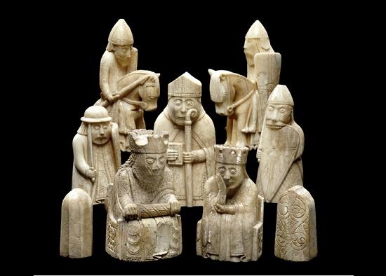 Viking szobor- a British Museum gyűjteményéből