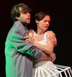 A Róza és Mór  – nemzeti-romantikus daljáték – szerelmesei (Rada Bálint, Botos Éva)