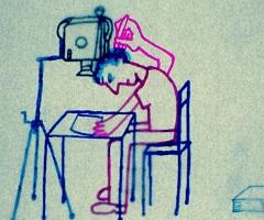 Michel Gondry: Animált beszélgetés Noam Chomskyval