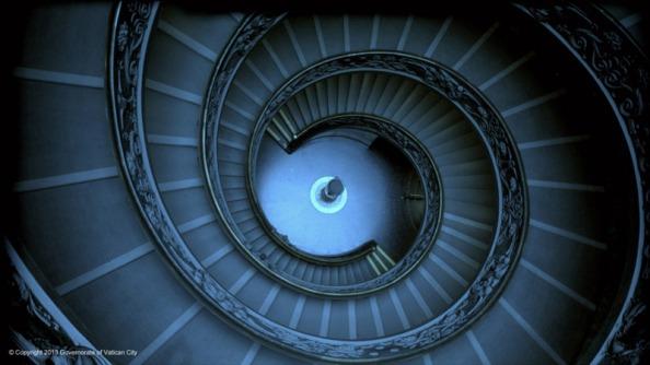 A Modern gyűjtemény lépcsője
